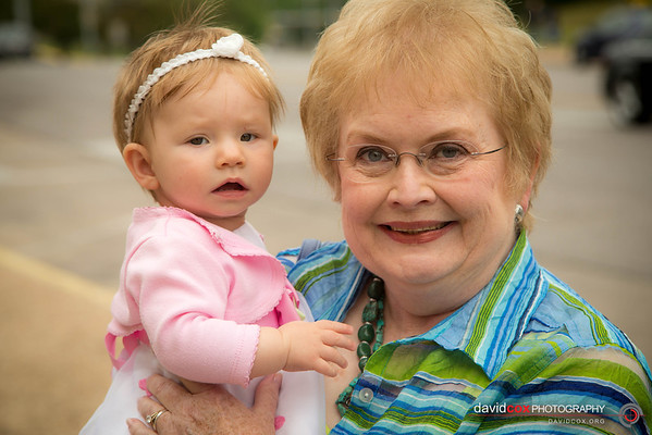 Madeline with Grandma