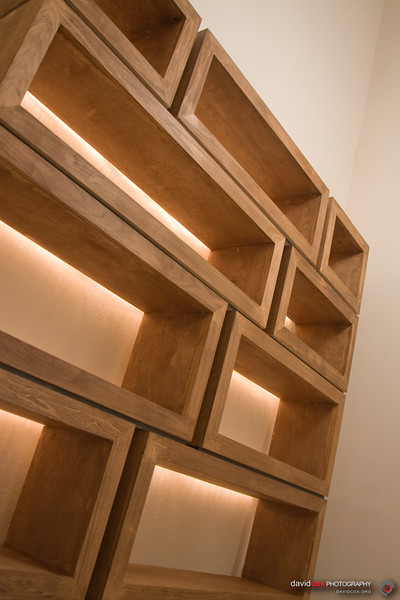Poplar & Birch Stacking Modular Furniture Cabinets Built around a 3D MDF torsion box